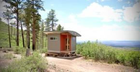 Крошечный домик для медитаций в бывшей коммуне хиппи фото