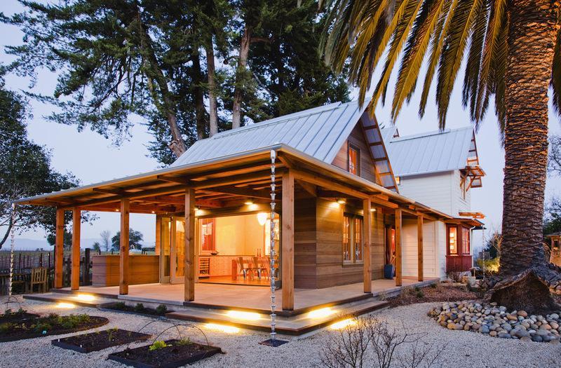 Разветвленный сельский дом в Северной Калифорнии