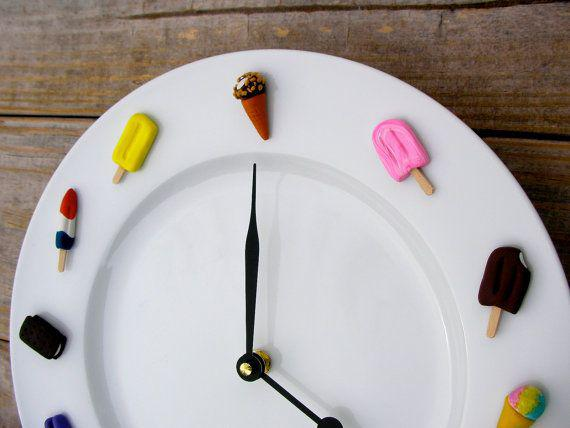 Часы для кухни сделать своими руками