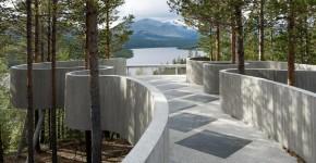 Смотровая площадка Карла-Вигго Хёльмебакка: открывая живописные виды Норвегии фото