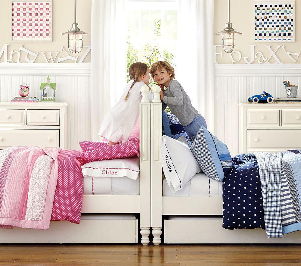 Boy And Girl Sharing A Bedroom Ideas For Decorating: Детская для разнополых детей