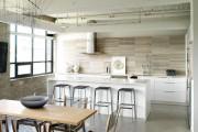 Фото 8 Кухня в стиле лофт: индустриальная романтика в домашнем интерьере, 75 фото
