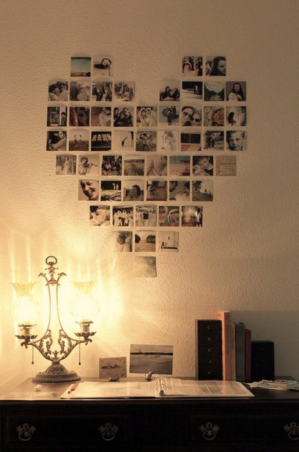 Фотографии на стене своими руками