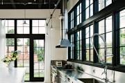 Фото 7 Кухня в стиле лофт: индустриальная романтика в домашнем интерьере, 75 фото