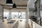 Фото 5 Кухня в стиле лофт: индустриальная романтика в домашнем интерьере, 75 фото