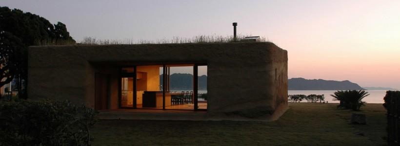 House C: дом с цветущей крышей