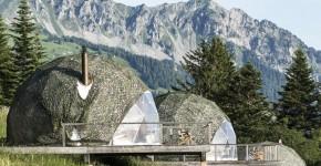 The Pods, Les Cerniers: роскошный эко-отель в швейцарских Альпах фото