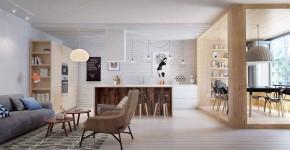 Квартира для молодой пары в Санкт-Петербурге: функционально и эстетично фото