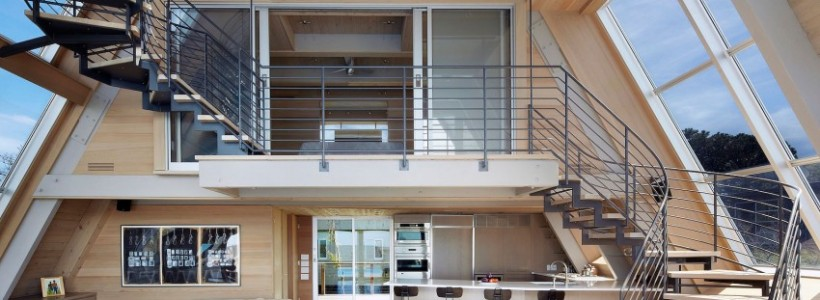 A-Frame Residence: новая жизнь для каркасного дома