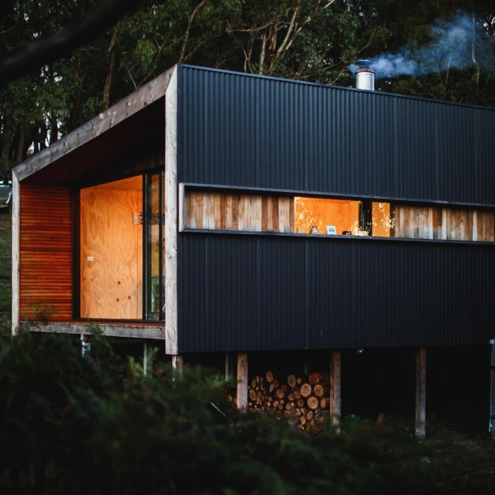Pump-House-Corrugated-Side-and-Log-Storage