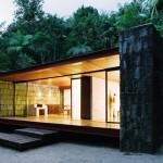 Casa Rio Bonito (20 фото): модерн в тропическом лесу фото