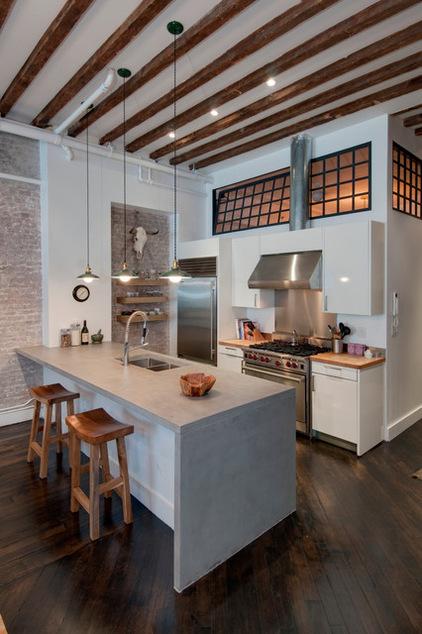 Бруклинский лофт по фен-шуй: больше света, больше пространства