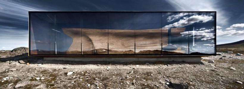 Обзорный павильон от Snohetta Architects: шедевр на высоте 1200 м
