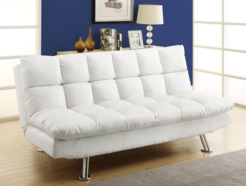 Наличие пространства сзади дивана поможет не передвигать его при частом раскладывании