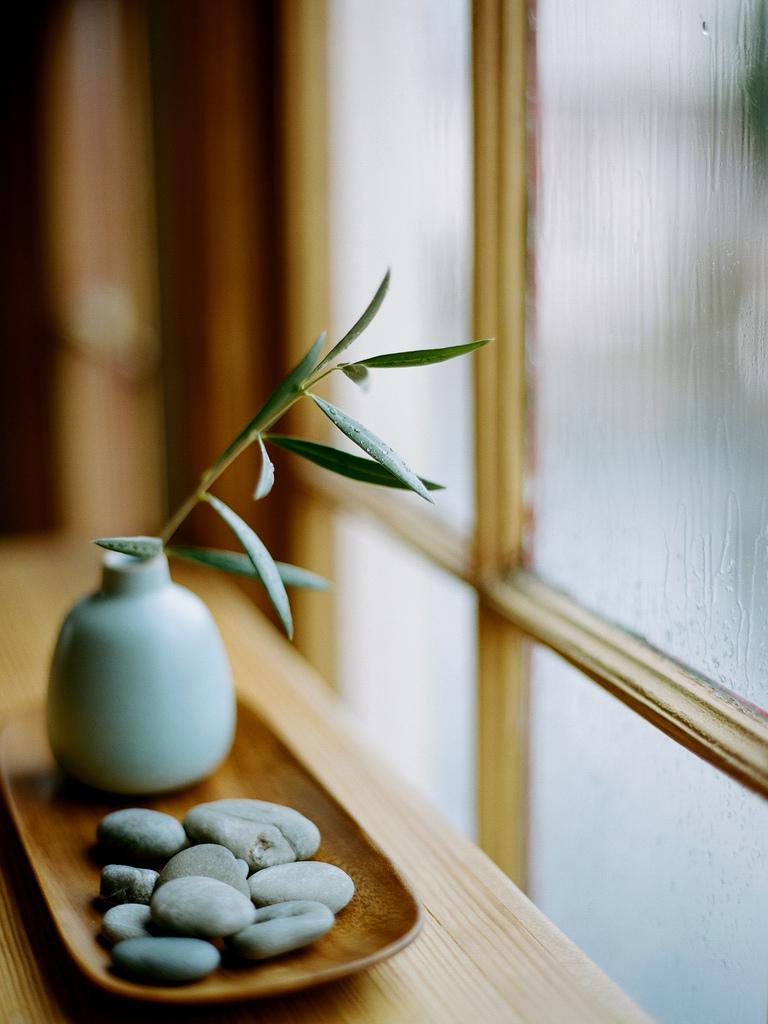 Детали интерьере в японском стиле изящны и аккуратны