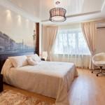 Натяжные потолки для спальни (40 фото): романтично, стильно и практично фото
