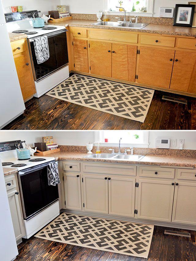 Простое окрашивание подарит по-настоящему новую кухню