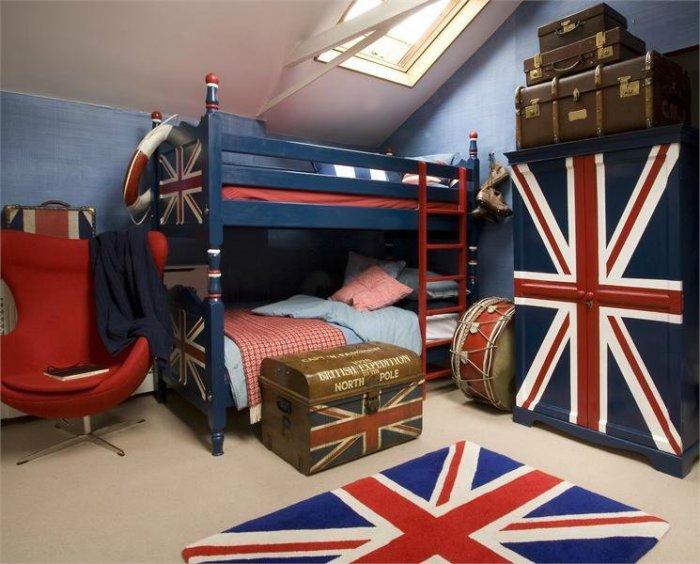 Мебель для детской не должна заполнять больше 30% пространства комнаты
