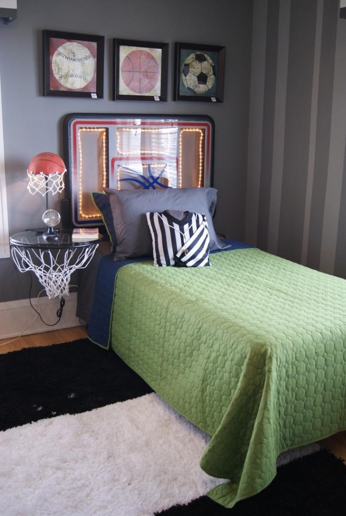 Стилизованная мебель особенно эффектно смотрится в комнатах подростков