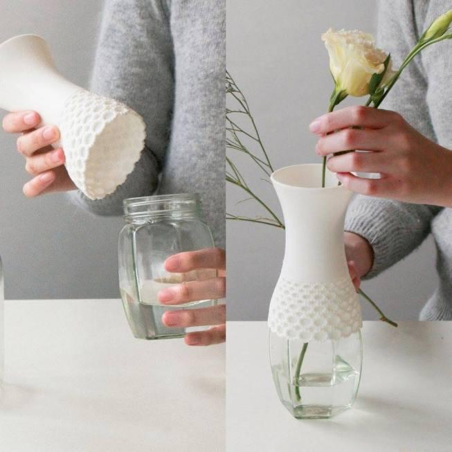 Напольные вазы своими руками фото