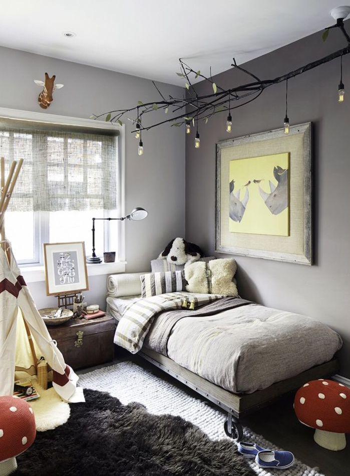 Совмещая современную и винтажную мебель, вы получите интересный интерьер