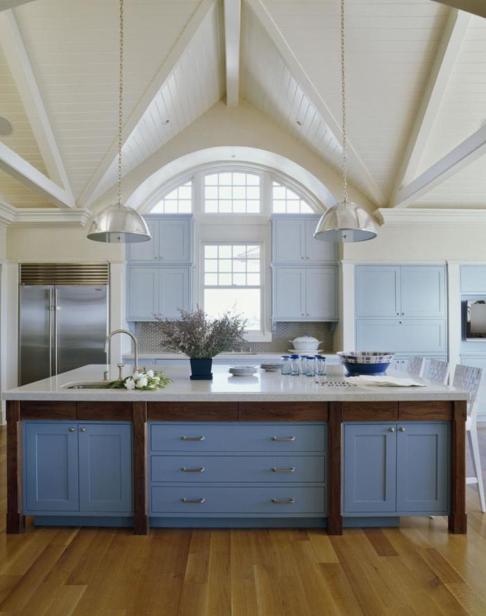 Деревянный потолок (46 фото): создаем уют и теплоту в доме
