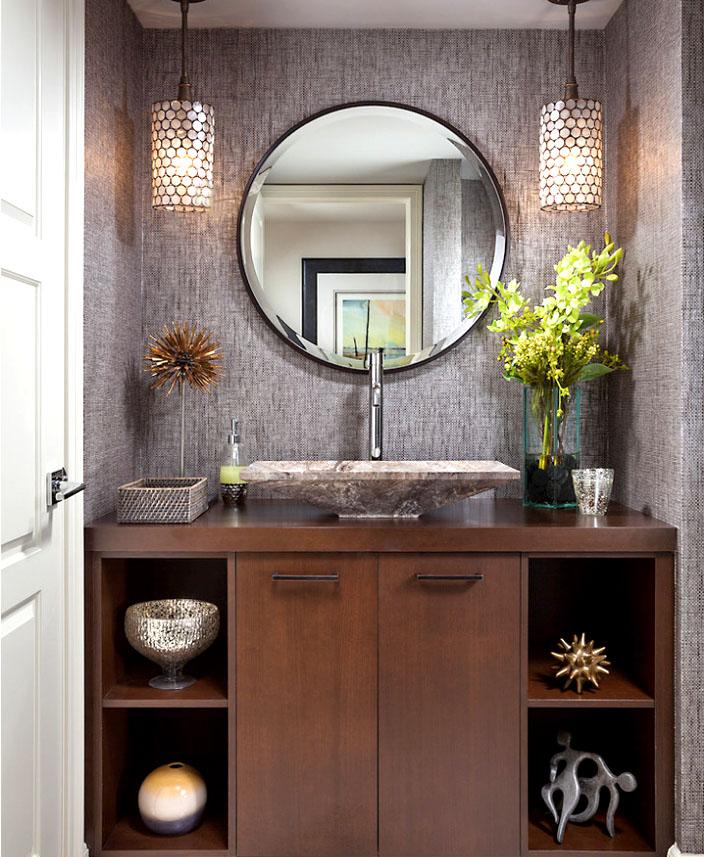 Освещение рабочей зоны ванной комнаты