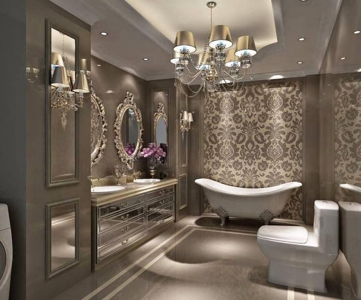 Многообразие и доступность обоев для ванной комнаты ставит перед Вами интересную задачу, значительно расширяя спектр возможный решений