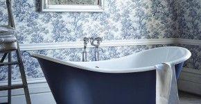 Обои для ванной комнаты (44 фото): опровергая стереотипы фото