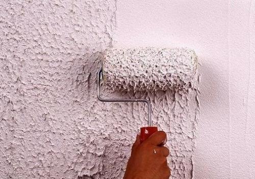 Валик позволит быстро и эффективно создать фактурное покрытие
