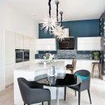 Отделка стен на кухне (48 фото): современные материалы и их особенности фото