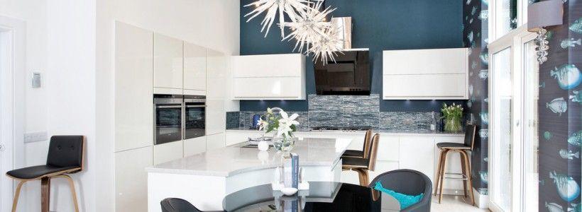 Отделка стен на кухне (48 фото): современные материалы и их особенности
