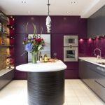 Фиолетовая кухня (58 фото): смелое решение для сильных духом фото