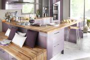 Фото 2 Фиолетовая кухня (90 фото): выбор дизайнеров — фиолетовые тона для кухни и лучшие сочетания цветов