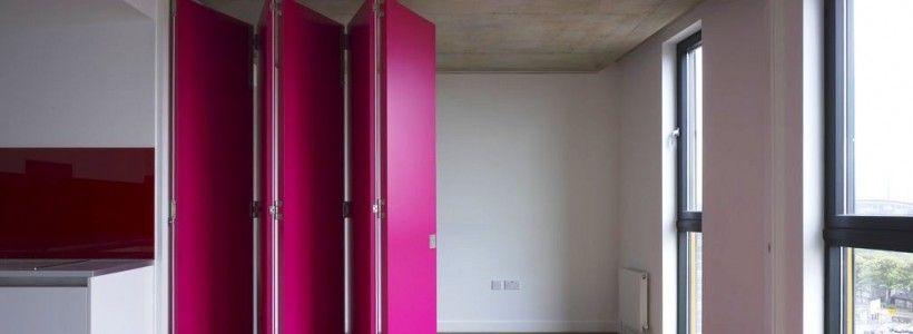 Дверь-гармошка (54 фото): чтобы все, как по нотам