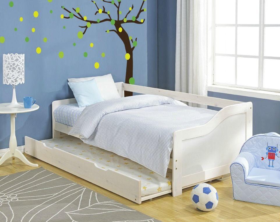 Детская выдвижная кровать - функционально и практично