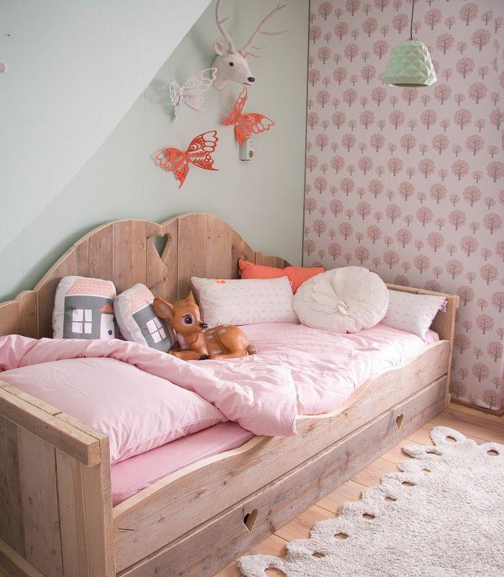Выдвижная кровать в сложенном виде