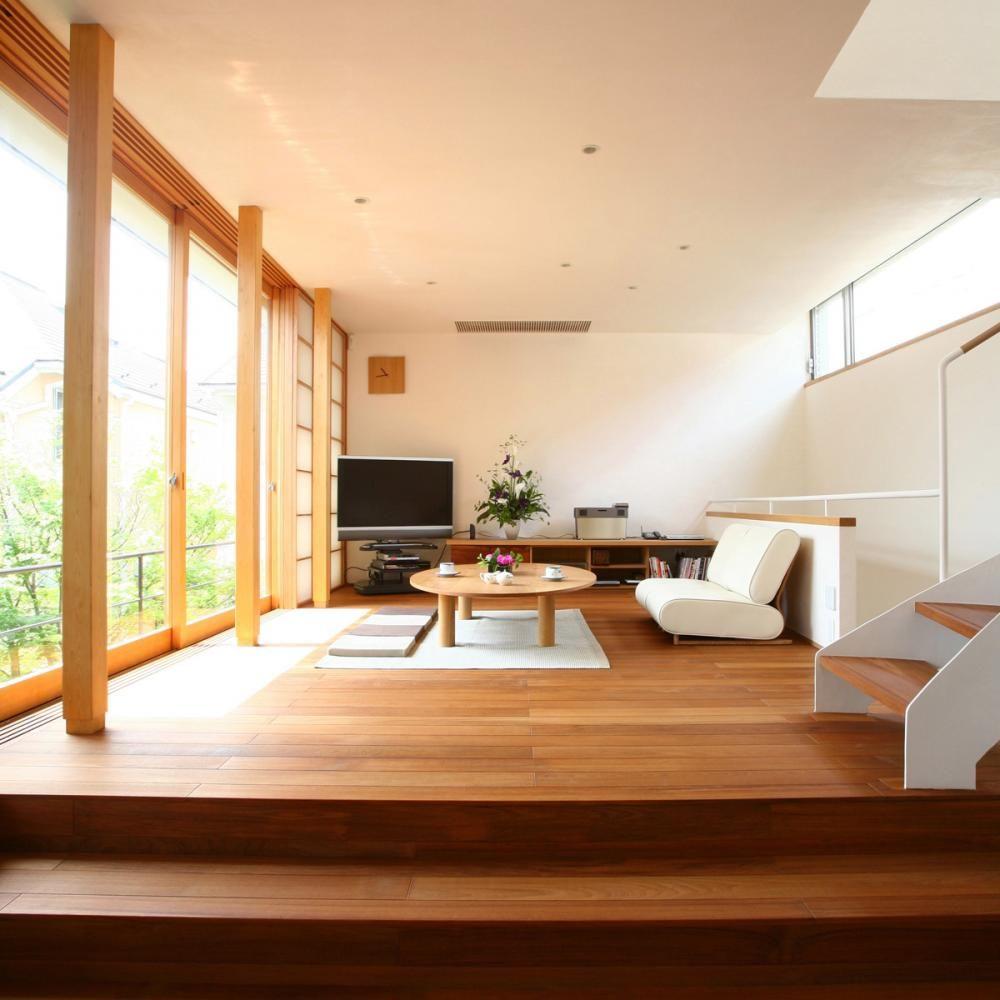 Много света, простора и природных материалов - принципы японского интерьера