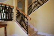 Фото 26 Кованые перила для лестниц (45 фото): мелодия, застывшая в металле