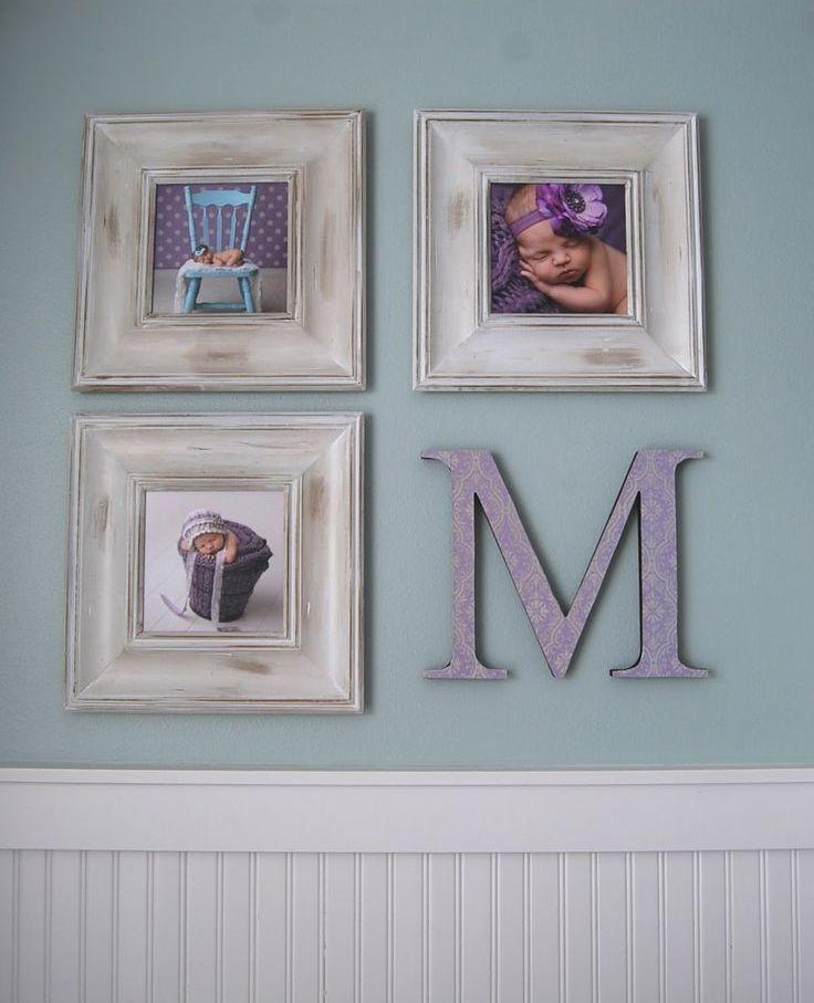 Вместо четвертой фото - первая буква имени вашего ребенка