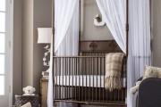 Фото 33 Балдахин на детскую кроватку (57 фото): защитим сон ребенка
