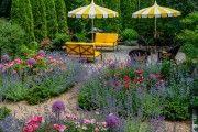 Фото 7 Цветы на даче (60 фото): создаем райский уголок