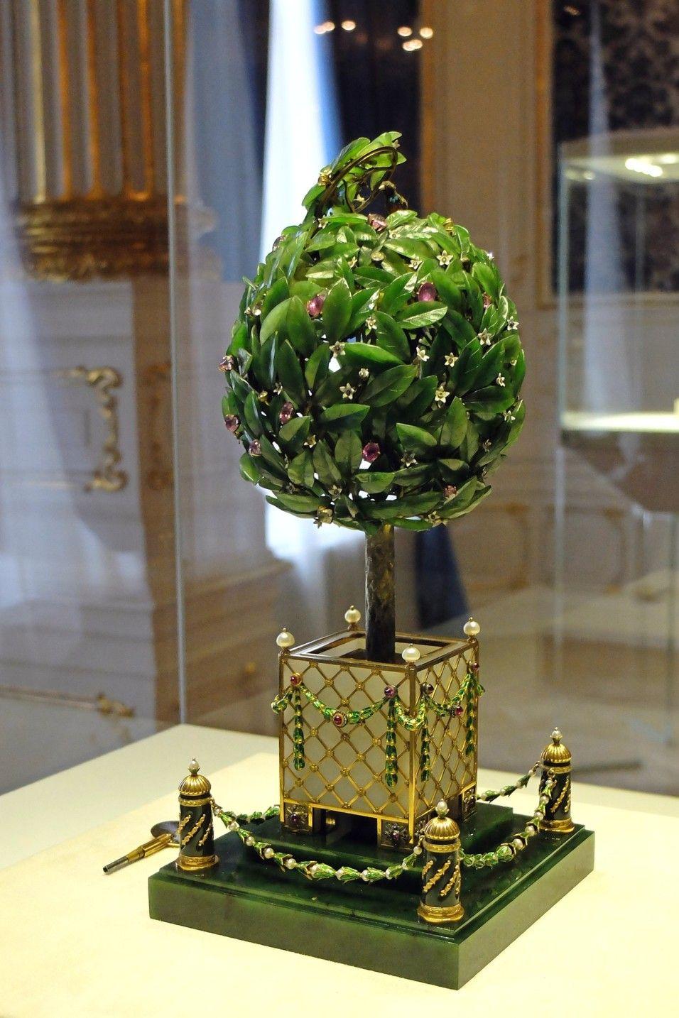 Фото 3 - Яйцо Фаберже «Лавровое дерево»