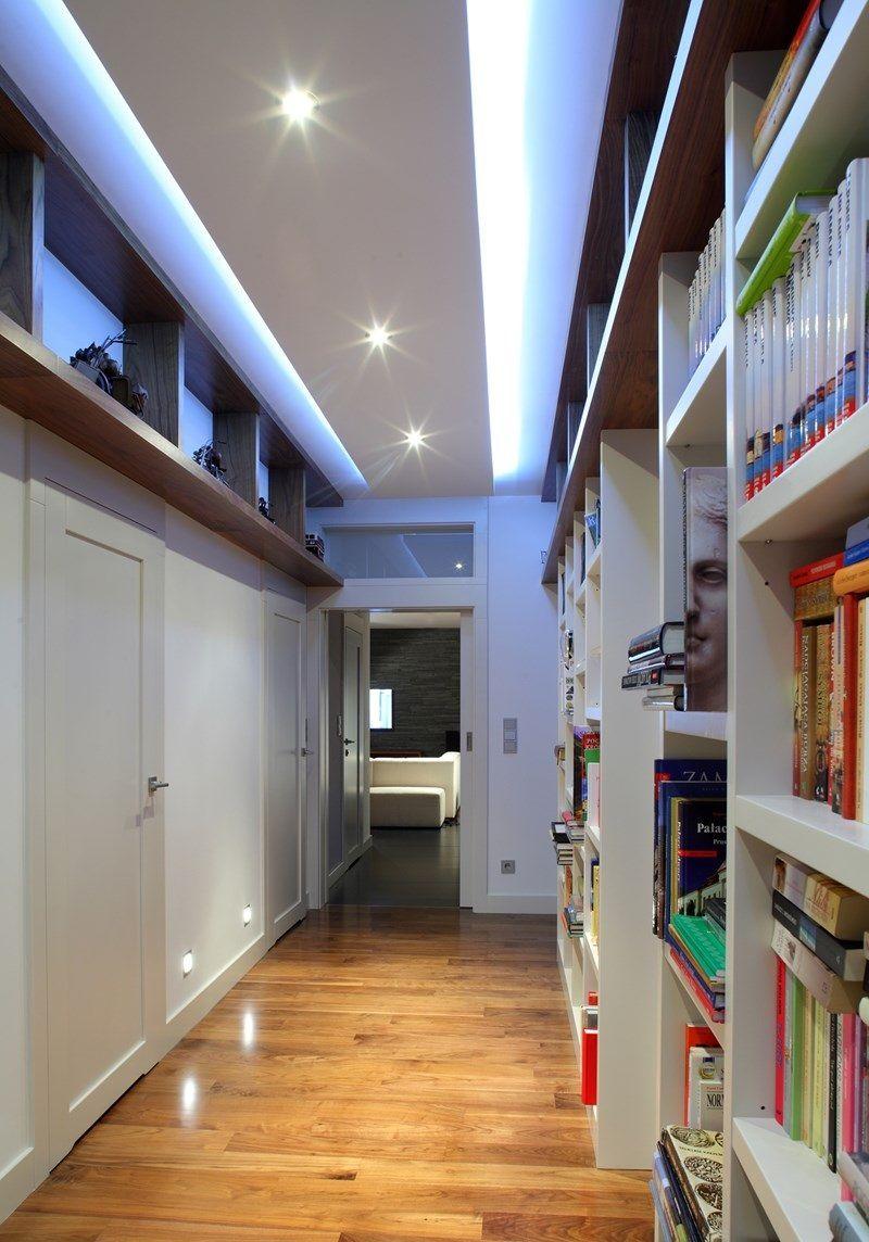Двухуровневые потолки подходят практически для любых помещений