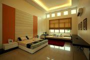 Фото 16 Двухуровневые потолки из гипсокартона (51 фото): технология монтажа
