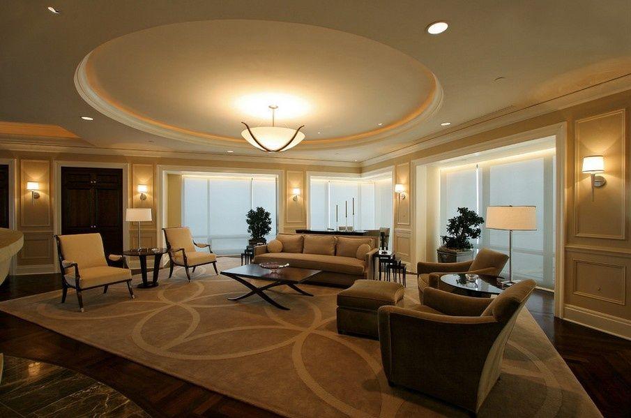 Устанавливая двухуровневые потолки, Вы получаете полностью новую поверхность