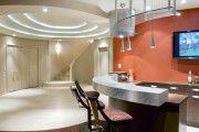 Фото 15 Двухуровневые потолки из гипсокартона (51 фото): технология монтажа