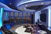 Фото 4 Двухуровневые потолки из гипсокартона (51 фото): технология монтажа