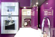 Фото 8 Фиолетовая кухня (90 фото): выбор дизайнеров — фиолетовые тона для кухни и лучшие сочетания цветов
