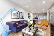 Фото 29 Фиолетовая кухня (90 фото): выбор дизайнеров — фиолетовые тона для кухни и лучшие сочетания цветов